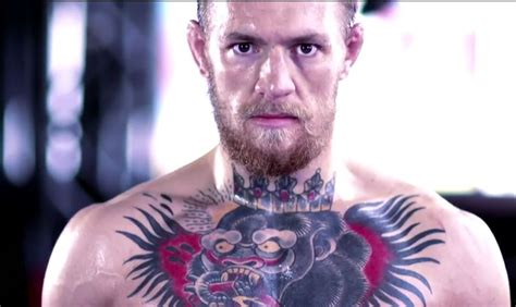 conor mcgregor tattoos conor mcgregor on