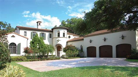 Old Florida House Plans by Spanish Home Plans Spanish Style Home Designs From
