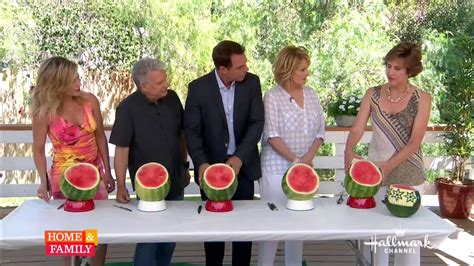 house shows nita gill shows watermelon baskets on home and family tv
