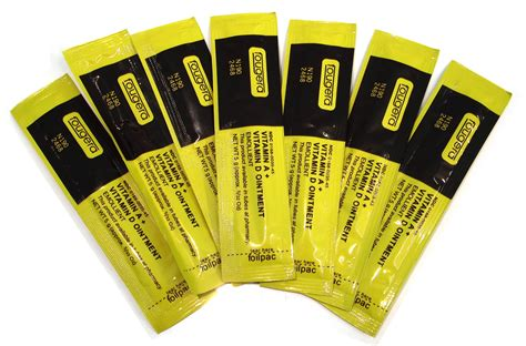 vitamin e on tattoo aftercare sachets vitamin a d