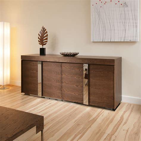 modern designer sideboard cabinet buffet in dark elm 2