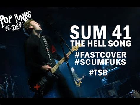 sum 41 the hell song skumfuks cover