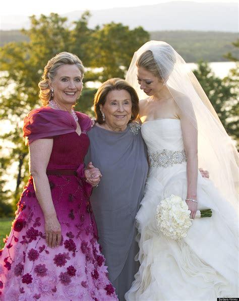 Chelsea Clinton Wedding Gown by Clinton S Oscar De La Renta Dress See A