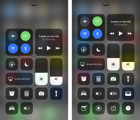 where center ios 11 how to use and customize center in ios 11 mac rumors