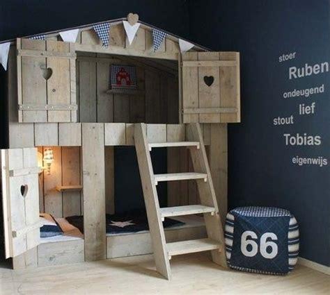 tree house bed kid s room pinterest