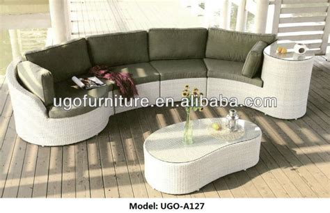 sofa halbrund 2015 sale berlin betty outdoor rattan wicker sectional
