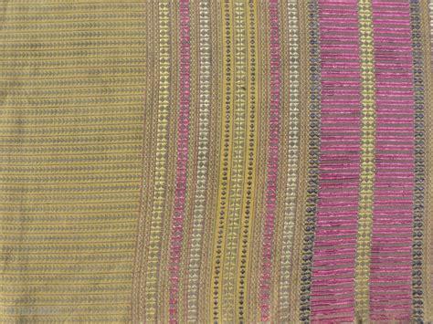 antique khes textile   sind region  pakistan