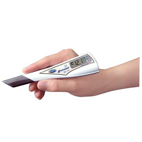 Refractometer Atago Pen Urine S G atago 3730 pen pro dip style digital refractometer from
