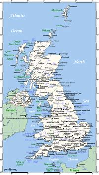 geography of the united kingdom wikipedia