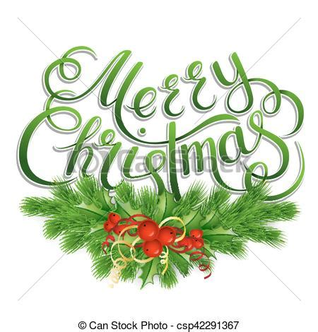 Merry Lettering