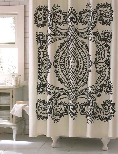 Designer Shower Curtains Decorating Designer Your Shower Curtain The Home Design Sle Modern Shower Designs For Modern House