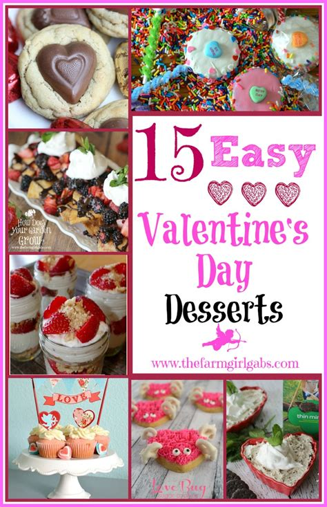 easy day desserts 15 easy s day desserts www