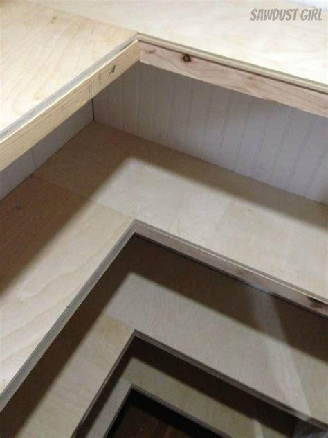 build corner floating shelves floating shelves