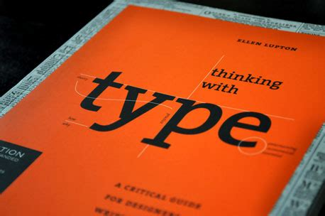 thinking with type second ellen lupton quote on typography alice pugini