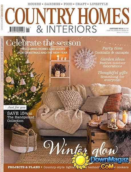 country home design magazines country homes interiors magazine january 2014