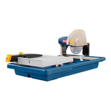 ryobi 7 in tile saw ws730 the home depot