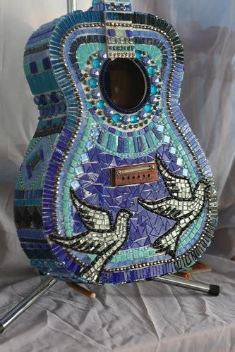 mosaic violin pattern 121 best images about mosaic guitars on pinterest guitar