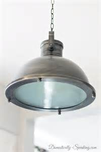 Nautical Light Fixtures Kitchen Nautical Kitchen Pendant Light The Island Domestically Speaking