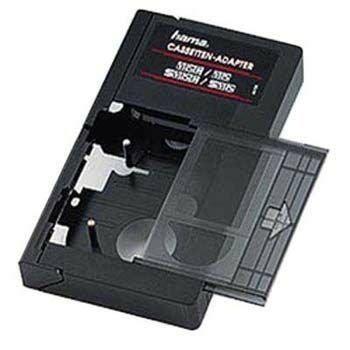 adattatore cassette 8mm bol cassette adapter vhs c vhs manueel