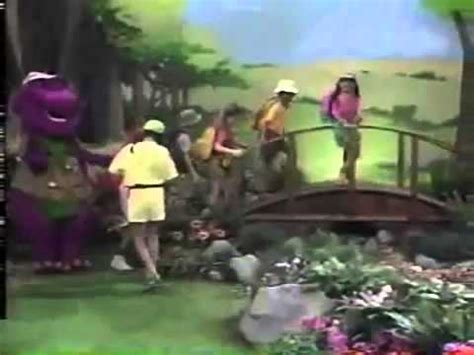 barney the backyard intro