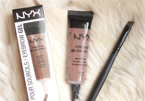 Eyebrow Gel Nyx review nyx eyebrow gel in quot chocolate quot simple stylings