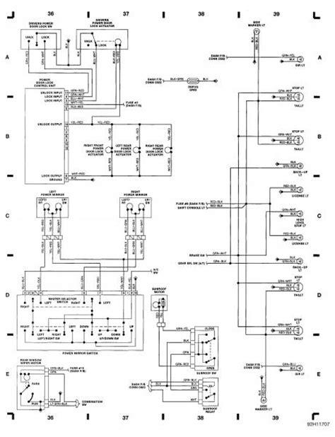 91 honda civic electrical schematics 91 free engine