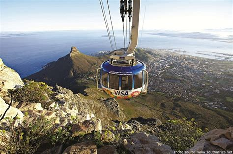 table mountain cable car facts about table mountain just facts
