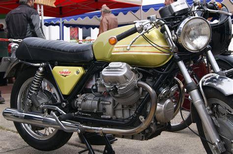 Modell Motorräder Oldtimer by Moto Guzzi V7 Sport V2 Motor Engine Bj 1972 Classic Bike