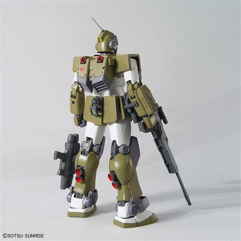 bandai model kit mg gm sniper custom 1 100 model kit robokun