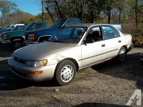 1994 Toyota Corolla For Sale 1994 Toyota Corolla Dx For Sale In Elmhurst Illinois