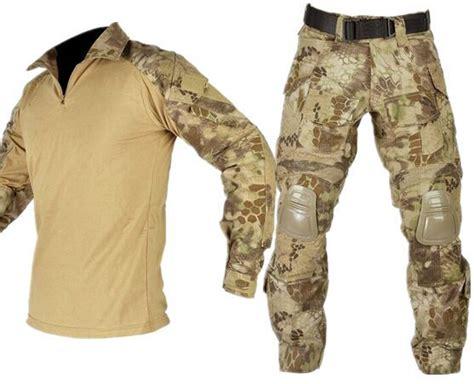 combat tactical gear highlander combat bdu with knee pads