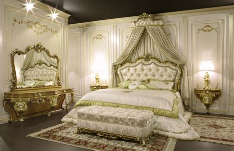 classic bedroom furniture baroque art  vimercati