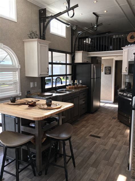 model home interior design images 2018 kropf island park model tiny homes in 2019