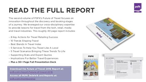 psfk 2017 forecast summary report psfk future of travel 2016 summary report