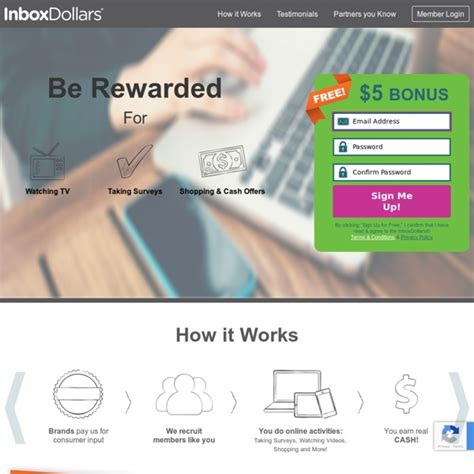 Mail In Surveys For Money - inboxdollars 174 earn cash for e mail surveys games and more pearltrees