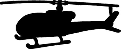 Helicopter Silhouette Clip Art (33 )