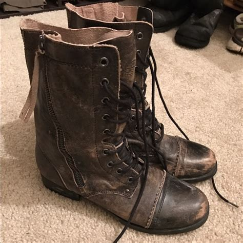 combat boots for aldo 67 aldo shoes aldo leather combat boots from maia s