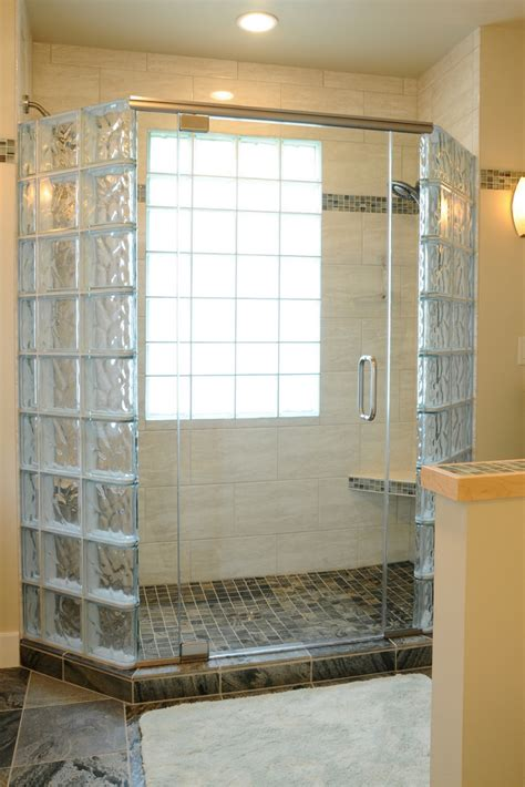 glass blocks bathroom walls 5 myths about anchoring a glass block shower wall glass