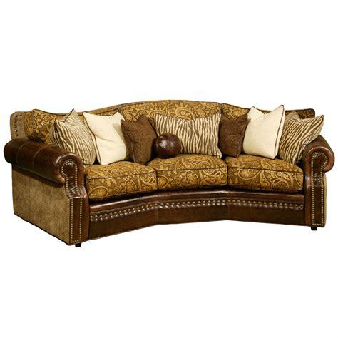 cartwright conversation sofa  omnia leather usa