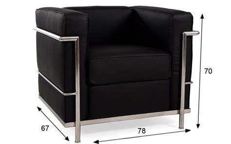 le corbusier poltrona poltrona le corbusier lc2 nera rental design
