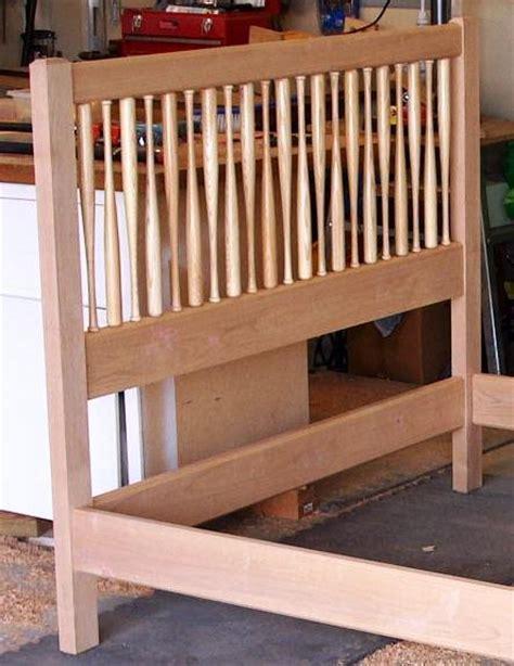 baseball bed frame baseball bat bed frame crafted baseball bat bed frame by