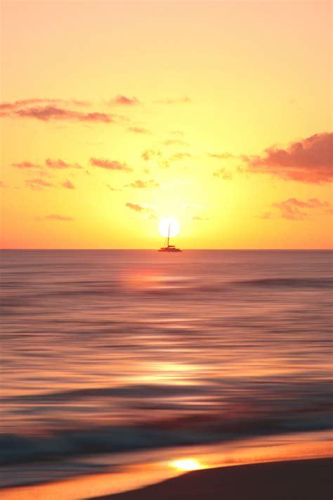 ship horizon dawn sea high quality wallpapershigh