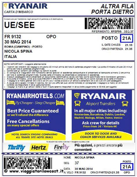 mobile check in ryanair check in mobile ryanair con carta di imbarco