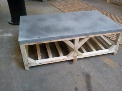 Crate Style Coffee Table Adapted Crate Style Coffee Table Zinc Top Davelennard