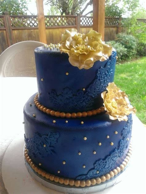 best 20 royal blue and gold ideas on pinterest prince royal blue and gold cake cakes by mavia pinterest