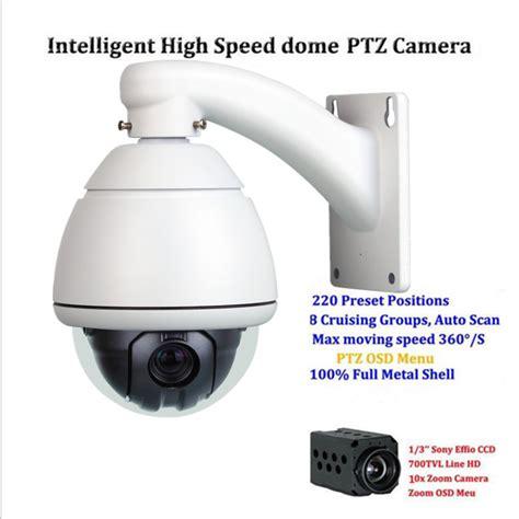 Termurah Ip Sped Dome 10 X Zoom Outdoor Hd 1080p 700tvl sony ccd mini speed dome ptz outdoor 10x zoom cctv 700tvl surveillance