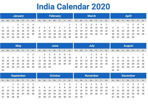 calendar  india  holidays
