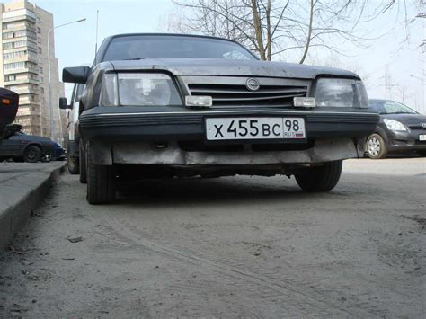 Opel Ascona For Sale by 1988 Opel Ascona Pictures 1 8l Gasoline Ff Manual For
