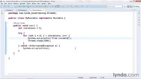 java tutorial runnable implementing the runnable interface
