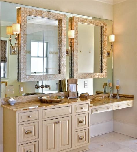 bathroom mirrors for double vanity opening up your interiors with inspiring mirrors